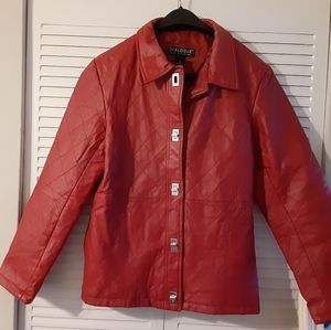 Dialogue Leather Jacket